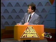 Pryamid game show with Dick Clark as host
