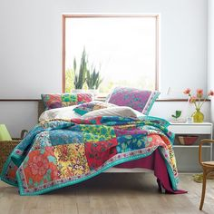 Shop Neela Quilts and Shams at The Company Store. The Company Store King Quilt Sets, Monogram Towels, Dorm Essentials, The Company Store, King Bedroom, Cotton Quilts, King Beds, Flat Sheets, Furniture
