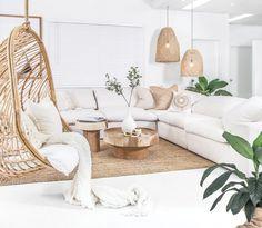 Our brand new Rio De Janeiro Sofa…….so super comfy that you lay back, sink i… – Home Decor&Remodel Living Room White, Boho Living Room, White Rooms, Home And Living, Living Room Decor, Natural Living Rooms, Earthy Living Room, Living Room Modern, Home Design