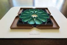 tealcup quilling gallery - Alhambra 3