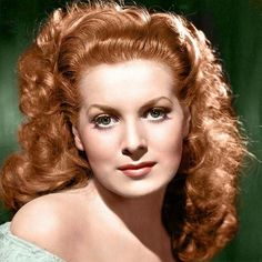 Hollywood Screen Legend Maureen O'Hara Dies at 95 IRISH-BORN actress and one of Hollywood's biggest stars in the and Maureen O'Hara passed away today [October at the age of according to a statement from her family. Hollywood Icons, Old Hollywood Glamour, Golden Age Of Hollywood, Vintage Hollywood, Hollywood Stars, Classic Hollywood, Classic Actresses, Beautiful Actresses, Actors & Actresses