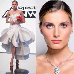 @edmondnewton design + #luiscascomakeup = #Beautiful ! For all of the #marykay #makeup details, chk out @luiscascomakeup . # #projectrunway #makeupartist #mua #wedding #bridal #Hallmarkchallenge #designeredmond @marykayus