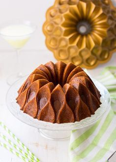 Piña Colada Bundt Cake