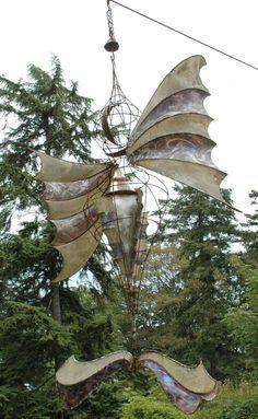 Wind Sculpture, Gardens Sculpture, Sculpture Gardens, Kinetic Wind, Kinetic Gardens, Anthony Howe, Howe Sculpture, Bikes Art, Art Kinetic
