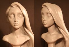 Absolutely beautiful. I really respect sculptors - because I do NOT have that ability in a 3d form. lol