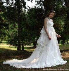 【楽天市場】ウェディングドレス_ウエディングドレス_Aライン_スレンダー(w2020)TIGLILY:ブライダルアモーレ