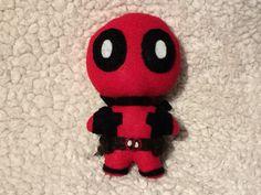 5.5 inch Chibi Deadpool Felt Plush