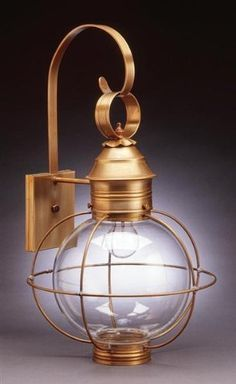 Caged Round Wall Dark Antique Copper 2 Candelabra Sockets Clear Glass by Northeast Lantern. $581.50