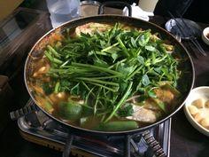 Korean traditional cod fish soup