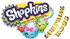 Shopkins Surprise Play Doh Eggs