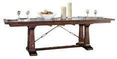 Image result for rough sawn dining table