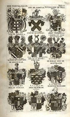 Spener, Philipp Jakob: Historia Insignium Illustrium Seu Operis Heraldici Pars Specialis. - Frankfurt <Main>, 1717. Jpg, Coat Of Arms, Frankfurt, Maine, History, Mannheim, Crests, Family Crest