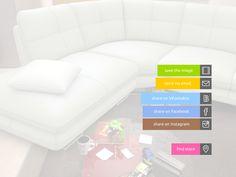 ELARBIS mobile app social share menu