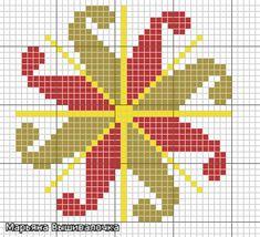 крест лады древнеславянский оберег схема вышивки - Google Search