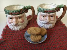 Check out this item in my Etsy shop https://www.etsy.com/listing/551997942/vintage-santa-mug-2-large-st-nick-coffee