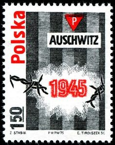 1975 30th anniversary of liberation of Auschwitz. | < 1,5´ ° PL 20160501 https://de.pinterest.com/MieGry/stamps-znaczki/