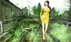 https://flic.kr/p/Mfgbso | Yellow dress... | Prism Design @ Designer Showcase Octorber  Credit ovhorrizon.blogspot.jp/2016/10/prism-by-journeydesigner-s...