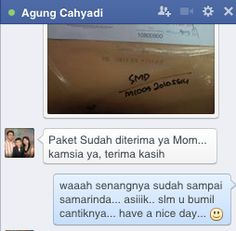 dad agung say... mom judah sampai SAMARINDA... kaos momme sbg pregnancy gift u istri tercinta... so sweet.. ;)