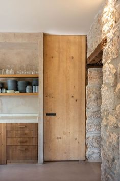 Style At Home, Interior Architecture, Interior And Exterior, Haus Am Hang, Stone Houses, Rustic Interiors, Home Fashion, Interior Design Living Room, Dream Homes