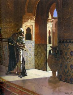 The Moorish Guard by Rudolph Ernst by Enzie Shahmiri - Artist, via Flickr