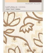 Naturals Wovens Straw Toast Saddle Digital Fabric Book