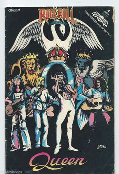 Queen - Rock N' Roll Comics Comic Book #4 1st Printing