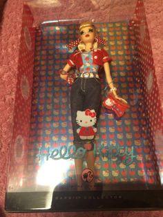 RARE Barbie Hello Kitty Apple Tree Pink Label 2008 New  Sanrio Japan 328 #Mattel #DollswithClothingAccessories