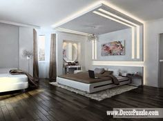Top 20 Suspended Ceiling Lights And Lighting Ideas  Cornices And Glamorous Bedroom Down Ceiling Designs Inspiration Design