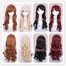Long Classic Multi-colors Wave Anime Cosplay Wig+A Free Wig Cap Cosplay Wigs, Anime Cosplay, Anime Wigs, Good Hair Day, Wig Cap, Cool Hairstyles, Ready To Wear, Hair Care, Waves