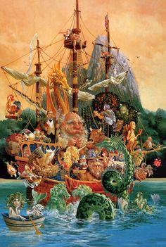 Christensen, James - Voyage of the Basset