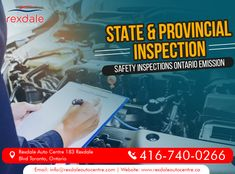 Safety Comes Always First!!! Rexdale Offers Safety Inspections for You to Make Sure that Your Vehicle is Ready to Give You a Save Ride or Not? For Services & More Info Contact: Call: 416-740-0266 Visit: www.rexdaleautocentre.ca  #RexdaleAutoCentre #AutoMaintenanceServices #TireServices #FlatTireRepair #AutoRepairServices #Wheel #AutoRepair #Car #OntarioCA #UplandCA #Ontario #Service #Upland #Alignment #Maintenance Safety Inspection, Car Repair Service, Flat Tire, Ontario, Vehicle, Vehicles