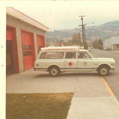Vintage Ambulance photo collection courtesy Kenneth Burdyny Riverview Ambulance Winnipeg Canada