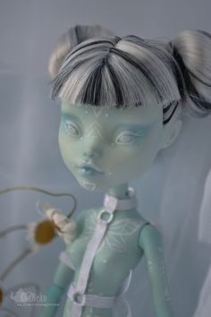 Custom OOAK Monster High Doll Frankie Stein
