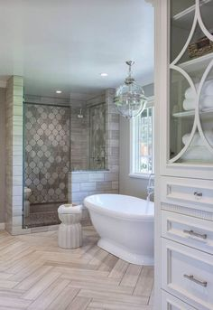 Master bathroom bathrub remodel ideas (2) #tilebathtub