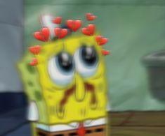 Spongebob is like me right now. Cartoon Profile Pictures, Cartoon Pics, Cute Cartoon Wallpapers, Sad Wallpaper, Wallpaper Iphone Cute, Aesthetic Iphone Wallpaper, Spongebob Painting, Spongebob Drawings, Spongebob Patrick