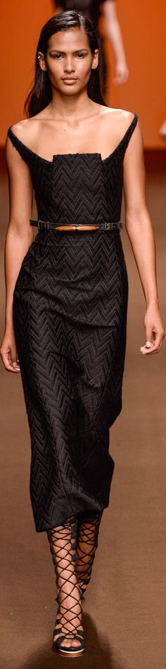 Visibly Interesting: Tufi Duek Black Dress Winter 2015