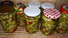 Ogórki do majonezu Calzone, Pickles, Cucumber, Grilling, Salads, Food And Drink, Menu, Treats, Drinks