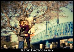 Friendship Fountain: Engagement Session Location Downtown Jacksonville