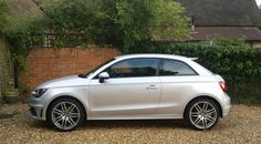 Side on view of the Audi S Line Audi A1, Car Magazine, Dream Cars, Savage, Sweet, Ideas, Cars, Candy, Thoughts