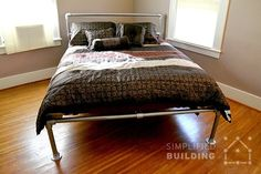 how to build a bed frame the easy way