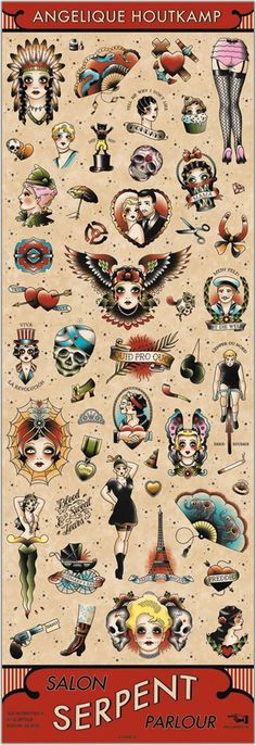 Old School Traditional Tattoo Trendy Tattoos, Love Tattoos, Beautiful Tattoos, Body Art Tattoos, Arabic Tattoos, Watch Tattoos, Hand Tattoos, Flash Art Tattoos, Traditional Flash