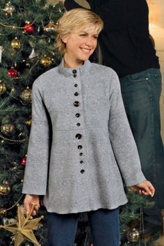 Cozy Button Up - Women's Clothing, Misses Size, Classic Fit Button Up | Soft Surroundings