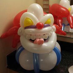 Scary Clown balloons