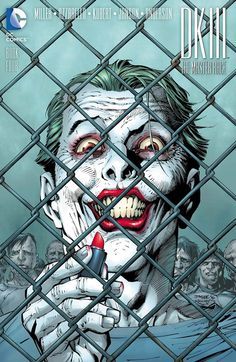 Variant cover to Dark Knight III: The Master Race #4 (2016), art by Jim Lee, Scott Williams, & Alex Sinclair