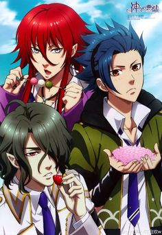 Kamigami no Asobi ~~ I watched the first episode of this anime last night. Not sure if I like the heroine or not yet.