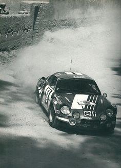 Darniche - Mahé - Alpine Renault - 1er Rallye du Maroc - 1973 - L'année automobile 1973 / 1974