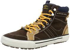 Pepe Jeans London STUART BOOT, Herren Hohe Sneakers, Braun (878BROWN), 44 EU - http://on-line-kaufen.de/pepe-jeans/44-eu-pepe-jeans-london-stuart-herren-hohe-2