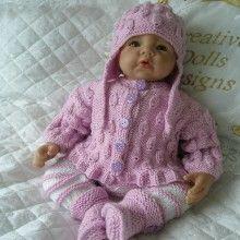 "17 - 22"" Doll / 0-3 mths Baby #97"