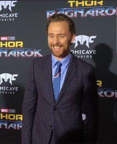 Tom Hiddleston at Thor: Ragnorok premier