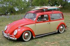 Custom surf wagon